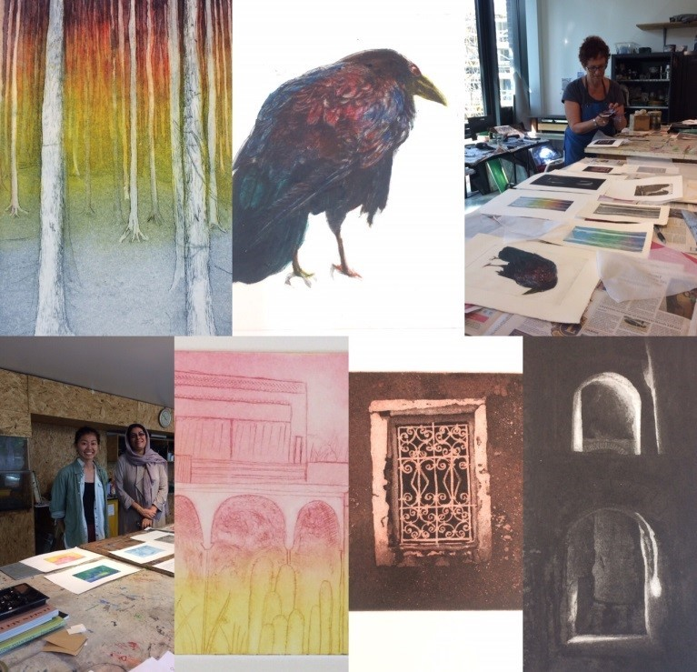 Hampstead Printmakers Exhibition at Lauderdale House