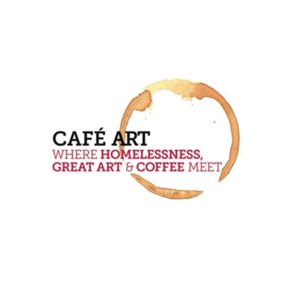 Cafe art logo