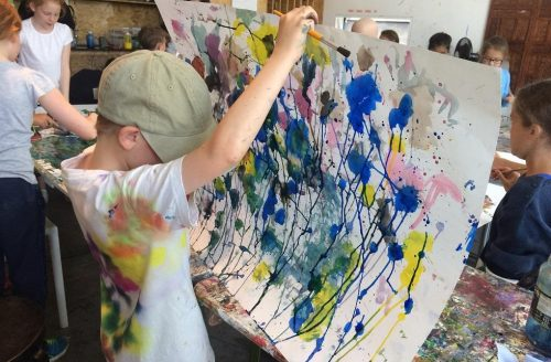 FAMILY ART SUMMER WORKSHOP Week 4 - Exploring Colour Through Painting