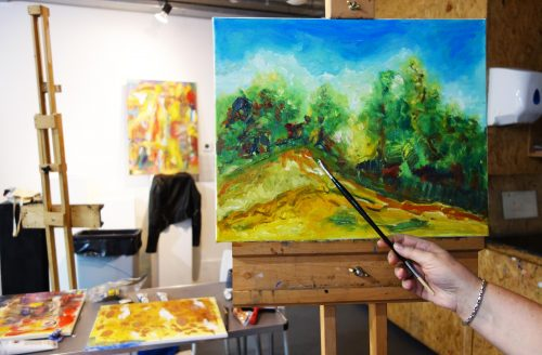 Open Painting Class