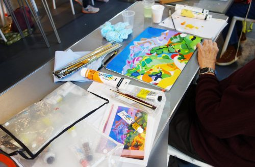 AUTUMN TERM Essential Skills in Painting and Drawing