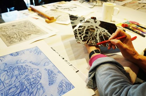 Printmaking and Etching