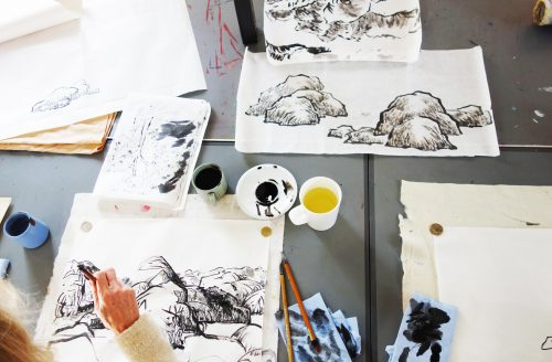 SUMMER TERM Chinese Brush Painting