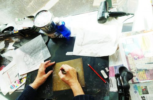 AUTUMN TERM Printmaking and Etching