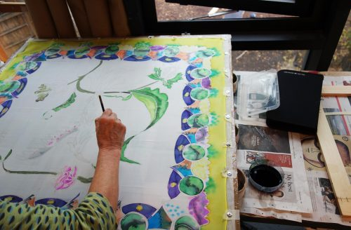 The Art of Silk Painting