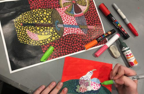 CHILDREN'S SUMMER ART SCHOOL Week 2 - Drawing & Painting (Currently in Year 4-7)