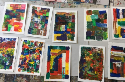 CHILDREN'S SUMMER ART SCHOOL Week 4 - Drawing & Painting (Currently in Year 4-7)