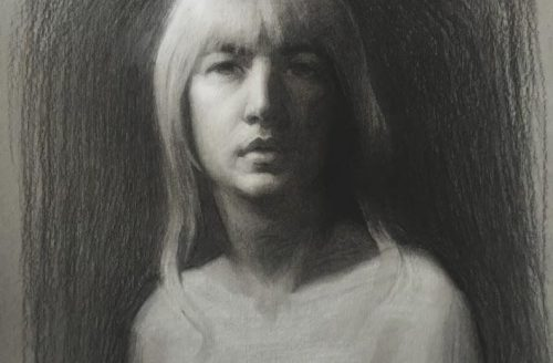 Lizet Dingemans Self Portrait 1a