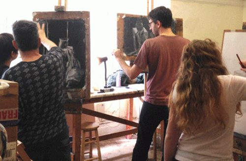 AUTUMN TERM Drawing and Oil Painting