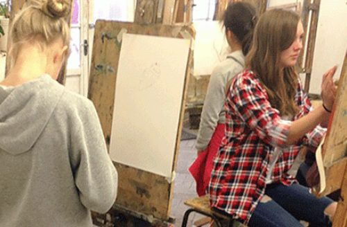 SUMMER TERM Young Adults Drawing & Painting (Year 8+)