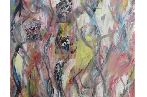 'Abstracting the figure' - Ron Best paintings