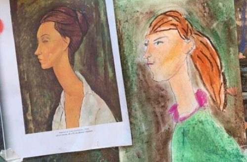 SUMMER TERM Children's Drawing & Painting (Year 5-7)