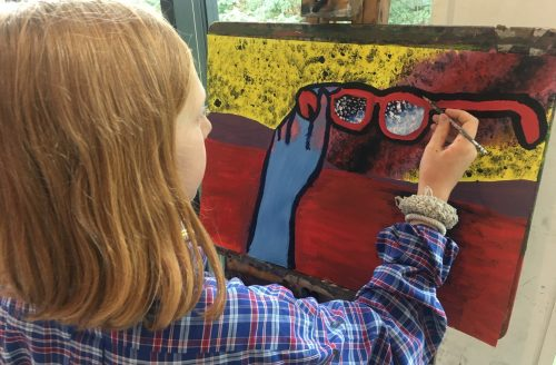 CHILDREN'S SUMMER ART SCHOOL Week 1 - Drawing & Painting (Currently in Year 4-7)
