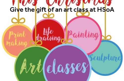 HSoA Gift Vouchers make for a creative 2020