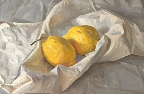 Francis Martin Still Life of Lemons