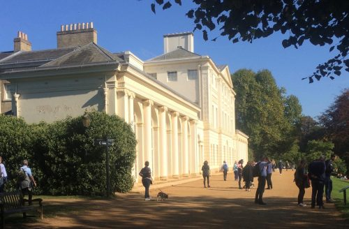 AUTUMN TERM Drawing at Kenwood House