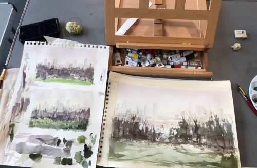 Watercolour Painting / Studio + Online