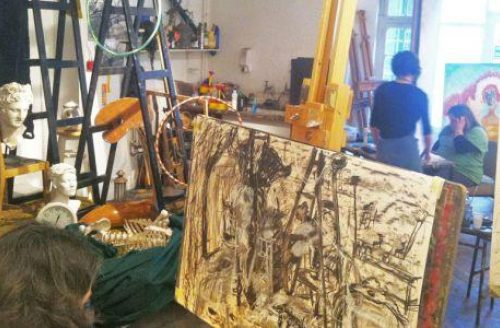 AUTUMN TERM Open Studio Introduction to Drawing and Painting
